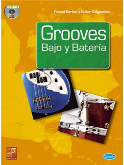 Grooves Bajo y Batería CD y Libro | Bass Guitar, Percussion