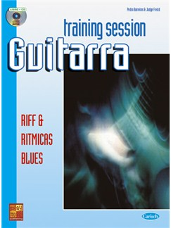 Training Session Guitarra: Riff & Rítmicas blues CD y Libro | Guitar