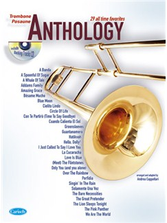 Anthology (Trombone), Volume 1 CD et Livre | Trombone