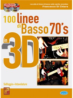 100 Linee di Basso 70's in 3D Books, CDs and DVDs / Videos | Bass Guitar