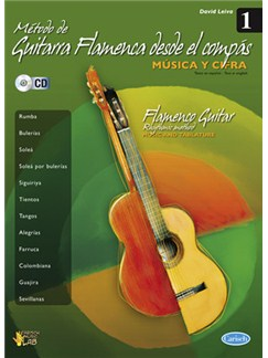 Método De Guitarra Flamenca Desde El Compás, Volume 1 CD et Livre | Guitare, Tablature Guitare, Voix