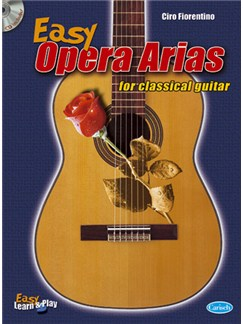 Easy Opera Arias for Classical Guitar Bog og CD | Guitar