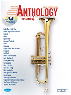 Anthology (Trumpet), Volume 4 CD et Livre | Trompette
