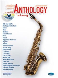 Anthology (Alto Sax & Eb Instrum.), Volume 4 Books and CDs | Saxophone