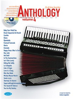 Anthology (Accordion), Volume 4 Books and CDs | Accordion