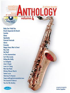 Anthology (Tenor Sax), Volume 4 Books and CDs | Tenor Saxophone