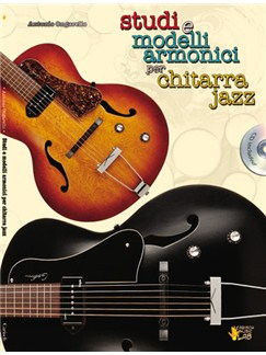 Studi E Modelli Armonici Per Chitarra Jazz CD y Libro | Guitarra