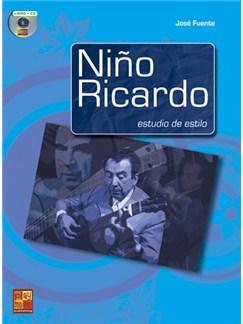 Niño Ricardo: Estudio de estilo CD et Livre | Guitare
