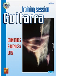 Guitar Training Session: Standards & rítmicas jazz CD y Libro | Guitar