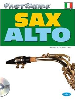 Fast Guide: Alto Sax (Italiano) Books and CDs | Alto Saxophone