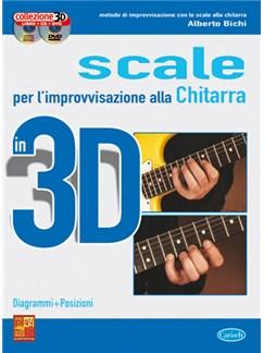 Scale per l'improvvisazione alla Chitarra in 3D Books, CDs and DVDs / Videos | Guitar
