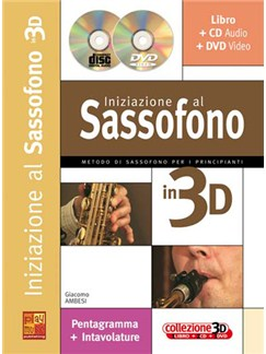 Iniziazione al Sax in 3D Books, CDs and DVDs / Videos | Saxophone
