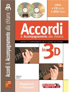 Accordi e Accompagnamento alla Chitarra in 3D Books, CDs and DVDs / Videos | Guitar