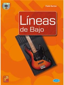 Lineas de Bajo CD y Libro | Bass Guitar