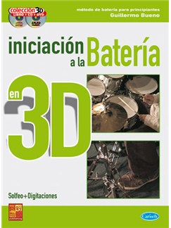 Iniciación Bateria 3d CD, DVDs / Videos y Libro | Drums