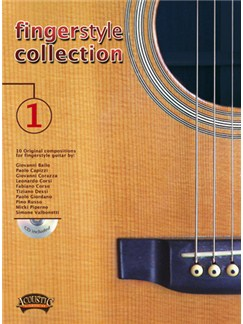 Fingerstyle Collection, Volume 1 Books and CDs | Guitar