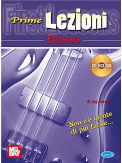 Prime Lezioni - Basso CD y Libro | Bajo