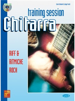 Guitar Training Session: Riff e Ritmiche Rock Books and CDs | Guitar