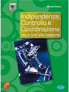 Indipendenza, Controllo e Coordinazione degli Arti alla Batteria Books and CDs | Drums