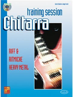 Guitar Training Session: Riff & Ritmiche Heavy Metak Books and CDs | Guitar