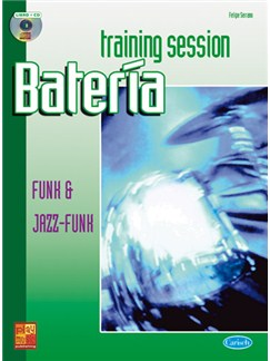 Training Session Batería: Funk & Jazz-Funk CD y Libro | Drums