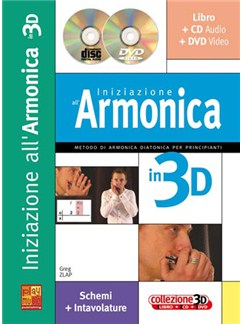 Iniziazione all'armonica in 3D Books, CDs and DVDs / Videos | Harmonica