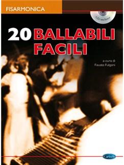 20 Ballabili Facili per Fisarmonica Books and CDs | Accordion