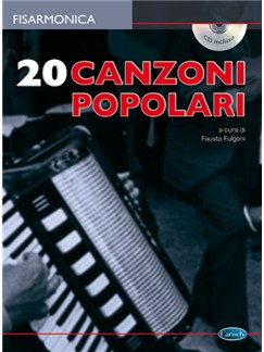 20 Canzoni Popolari per Fisarmonica Books and CDs | Accordion