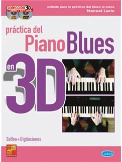 Práctica del Piano Blues 3D CD, DVDs / Videos y Libro | Piano