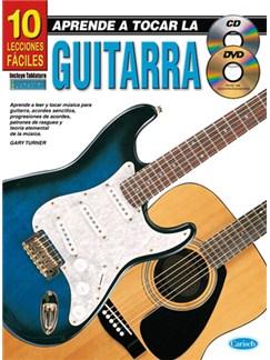 Aprende a tocar la Guitarra: 10 Lecciones Fáciles CD, DVDs / Videos y Libro | Guitar
