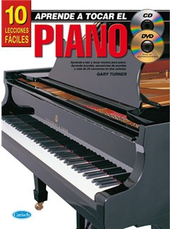 Aprende A tocar El Piano: 10 Lecciones Fáciles CD, DVDs / Videos y Libro | Piano