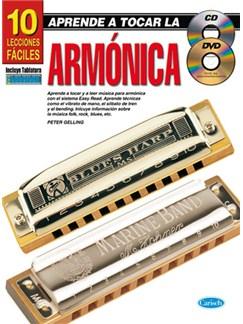 Aprende A Tocar La Armónica: 10 Lecciones Fáciles Books, CDs and DVDs / Videos   Harmonica