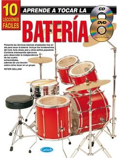Aprende A Tocar La Batería: 10 Lecciones Fáciles Books, CDs and DVDs / Videos | Drums