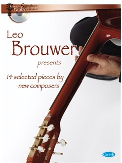 Leo Brower Presents 14 Selected Modern Composition Books and CDs | Guitar