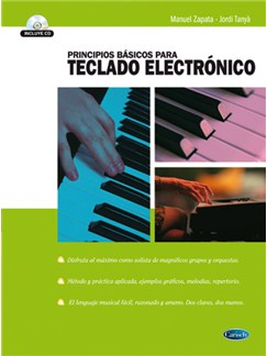 Principios Basicos para teclado electrónico CD y Libro | Keyboard