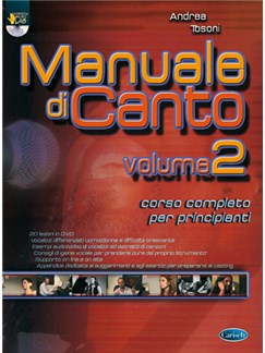 Manuale di Canto, Volume 2 Books and DVDs / Videos | Voice