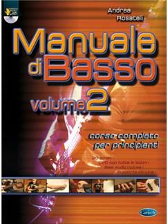 Manuale Di Basso, Volume 2 DVDs / Videos y Libro | Bajo