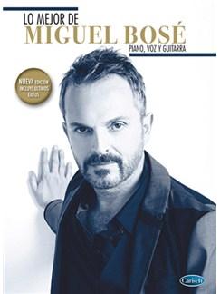 Lo Mejor de Miguel Bosé (Nueva edición) Libro | Piano, Vocal & Guitar