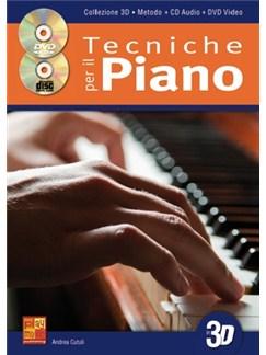 Tecniche per il Piano in 3D Books, CDs and DVDs / Videos | Piano