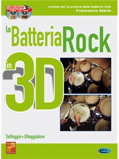 La Batteria Rock in 3D Books, CDs and DVDs / Videos | Drums