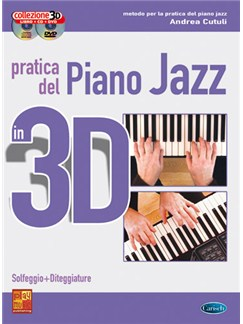 Pratica del Piano Jazz in 3D Books, CDs and DVDs / Videos | Piano