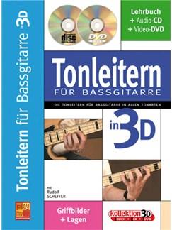 Tonleitern für Bassgitarre in 3D Buch, CD und DVDs / Videos | Bass Guitar