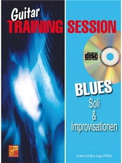 Guitar Training Session: Soli & Improvisationen Blues Books, CDs and DVDs / Videos | Guitar