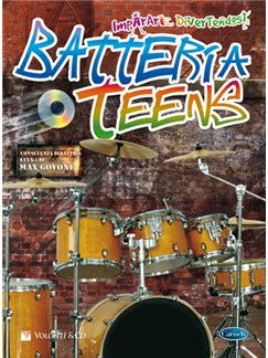 Metodo Batteria Teens Books and CDs | Drums