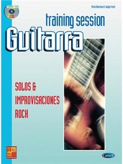Guitar Training Session: Solos & Improvisaciones Rock CD y Libro | Guitar