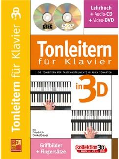 Tonleitern für Klavier Buch, CD und DVDs / Videos | Keyboard, Piano