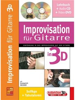 Improvisation für  Gitarre Buch, CD und DVDs / Videos | Guitar
