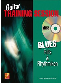 Guitar Training Session: Blues Riffs & Rhythmiken Books and CDs | Guitar