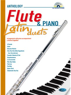 Latin Duets for Flute & Piano Books and CDs | Flute, Piano