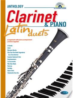 Latin Duets for Clarinet & Piano CD et Livre | Clarinette, Piano